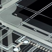 Capteur électronique imprimée
