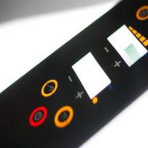 Les IHM (interface Homme/machine) Claviers à membrane, capacitifs, simples plats, thermoformés, avec ou sans coupelles, …